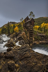 An Autumn Mill
